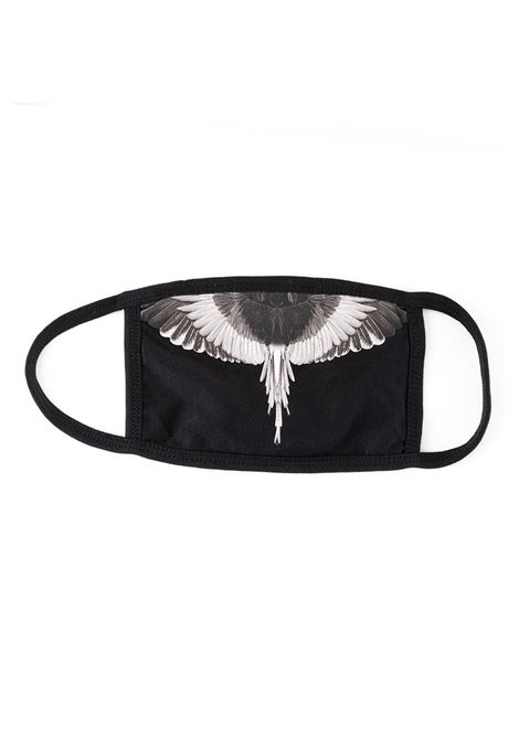 BLACK WINGS MASK MARCELO BURLON | Masks | CMRG003R190010181091