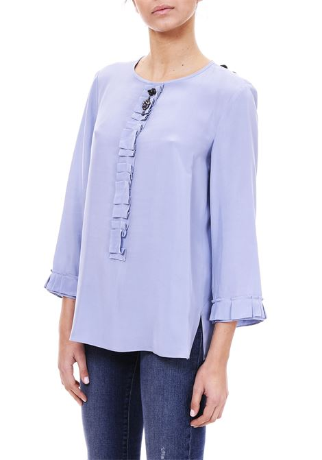 BLOUSE WITH APPLICATION MAX MARA'S | Blouse | FASCINO91110291600002