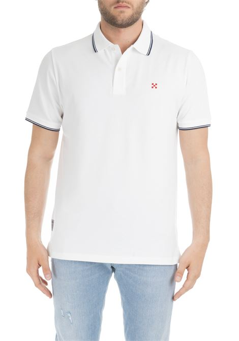 BEVERLYHILLS POLO WHITE MC2SAINTBARTH | Polo Shirts | BEVERLYHILLSBIANCO