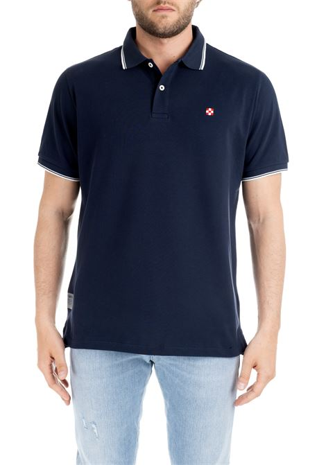 BEVERLYHILLS POLO BLUE MC2SAINTBARTH | Polo Shirts | BEVERLYHILLSBLU