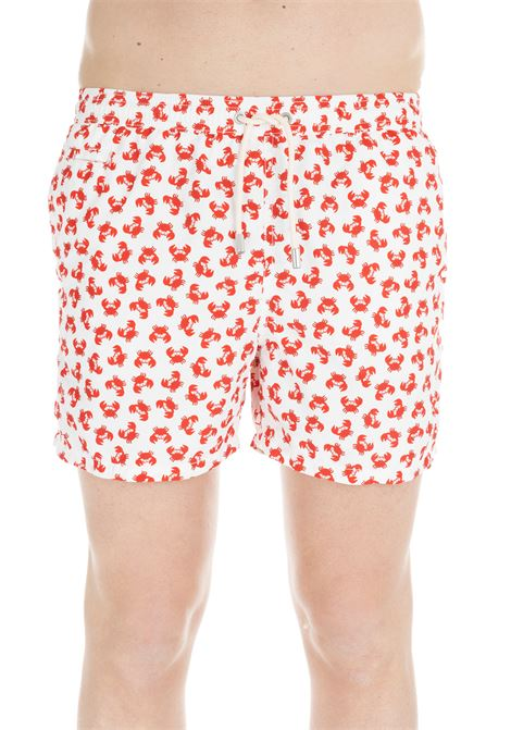 MID-LENGHT SWIM SHORT MICRO CRABS MC2SAINTBARTH | Swimsuits | LITTLENIPFANTASIA