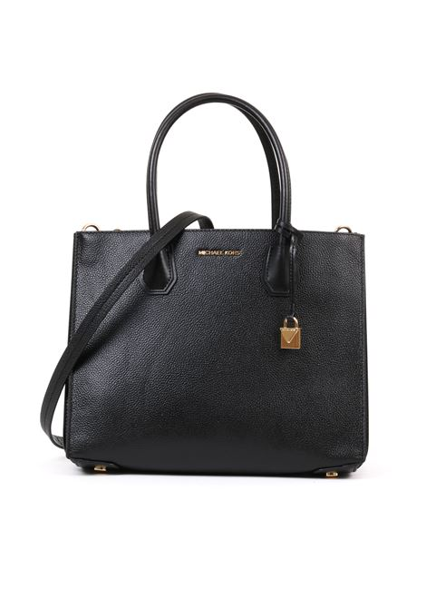 BLACK MERCER LARGE  ACCORDION MICHAEL DI MICHAEL KORS | Bags | 30F8GM9T3TMERCER001