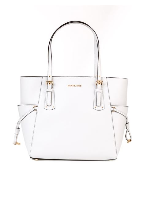 TOTE VOYAGER OPTIC WHITE BAG MICHAEL DI MICHAEL KORS | Bag | 30H7GV6T9LVOYAGER085