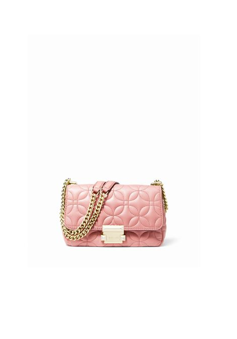 SMALL QUILTED LEATHER BAG MICHAEL DI MICHAEL KORS | Bags | 30H8GSLL1TSLOAN187