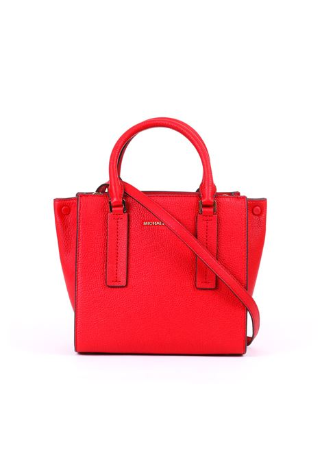 RED ALESSA BAG IN PEBBLED LEATHER MICHAEL DI MICHAEL KORS | Bag | 30S9G0AM2TALESSA683