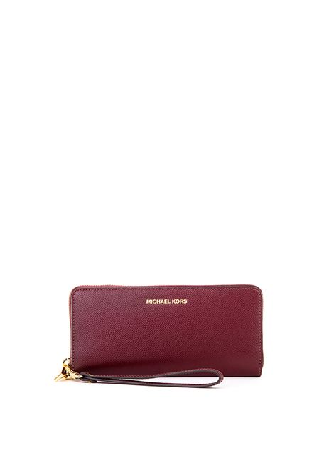 LEATHER WALLET MICHAEL DI MICHAEL KORS | Wallets | 32S5GTVE9LMONEYPIECES610