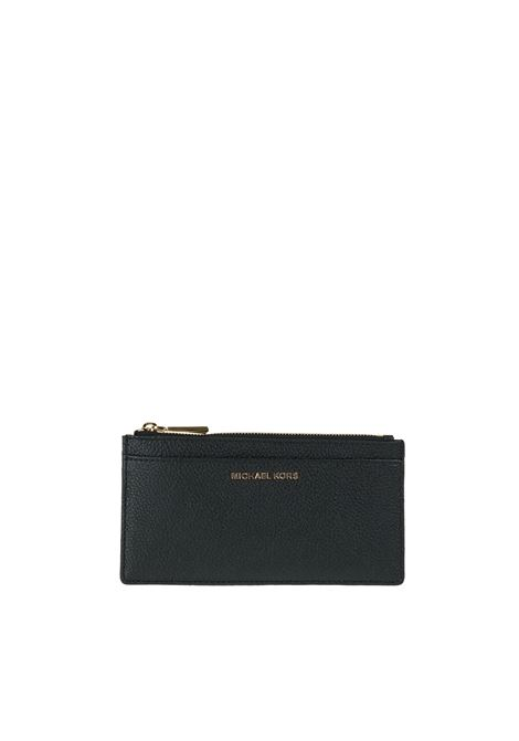 LEATHER WALLET MICHAEL DI MICHAEL KORS | Wallets | 32S8GF6D7LMONEYPIECES001