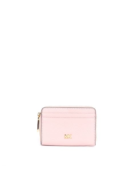 PINK WALLET MONEY PIECES COIN CARD CASE MICHAEL DI MICHAEL KORS | Wallets | 32T8GF6Z1LMONEYPIECES187