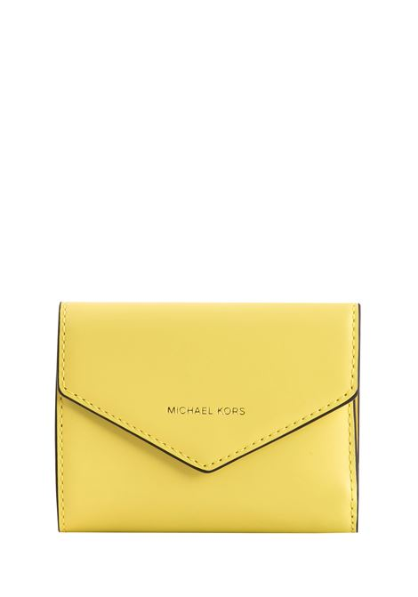 YELLOW SACHET JET SET SMALL WALLET MICHAEL DI MICHAEL KORS | Wallets | 32T8TZLD5L708