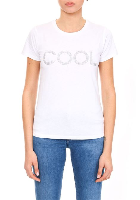 T-SHIRT WITH STUDS APPLICATION MICHAEL DI MICHAEL KORS | T-shirt | MH85M2G97J100