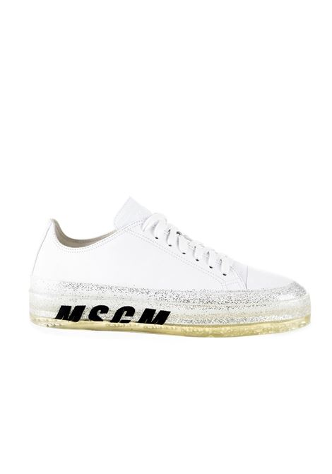 FLOATING SNEAKER WITH GLITTER SOLE MSGM | Sneakers | 2642MDS72586001