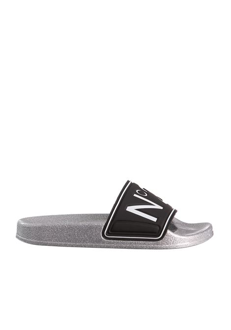 LOW RUBBER SANDALS WITH GLITTER SOLE N°21 |  | 00119SSS006600625S002