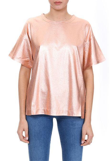T-SHIRT LAMINATA Nude | T-shirt | 1103505134