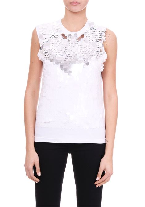 TOP FULL PAILLETTES GIROCOLLO Nude | T-shirt | 110358701