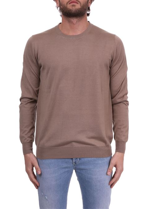 BEIGE LIGHT SWEATER PAOLO PECORA | Sweaters | A002F2001165