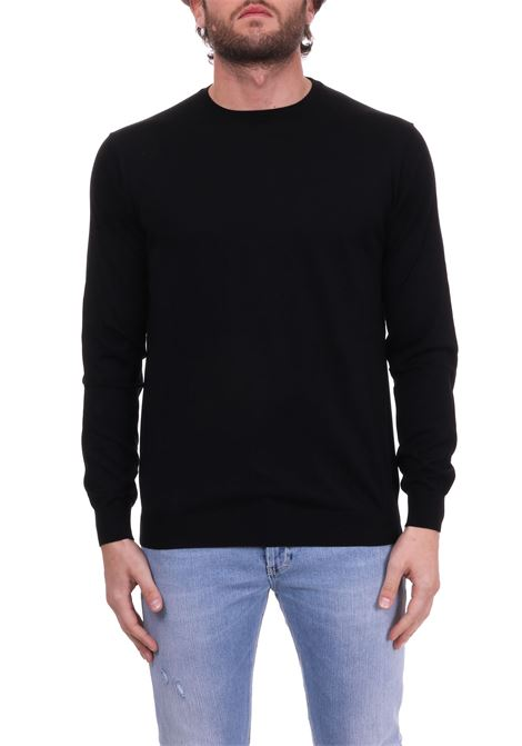 BLACK LIGHT SWEATER PAOLO PECORA | Sweaters | A002F2009000