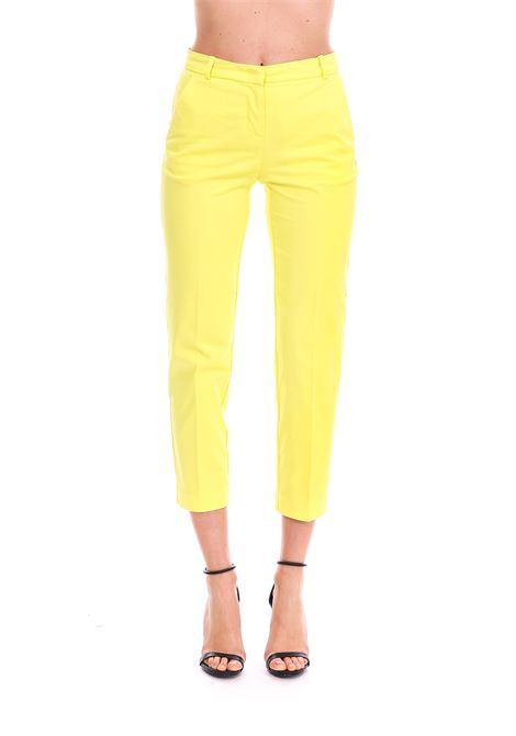YELLOW BELLO70 TROUSERS PINKO | Pants | BELLO70 1B13NG6832H1C