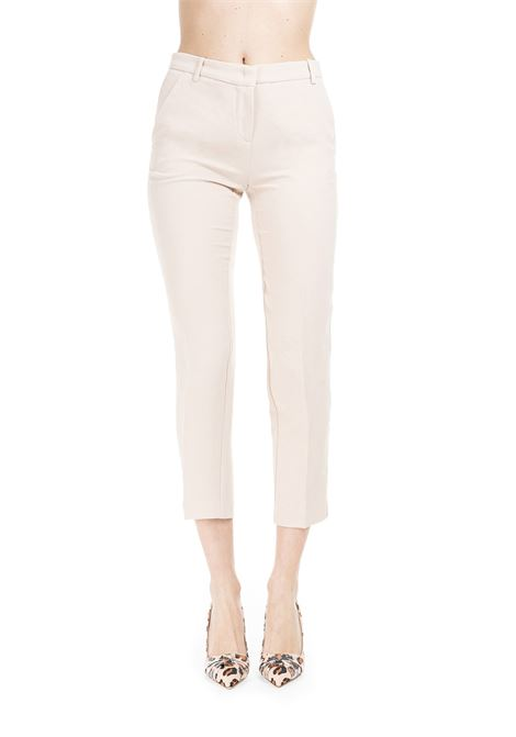 BEIGE BELLO 73 TROUSERS  PINKO | Pants | BELLO73 1B13VB7438D56