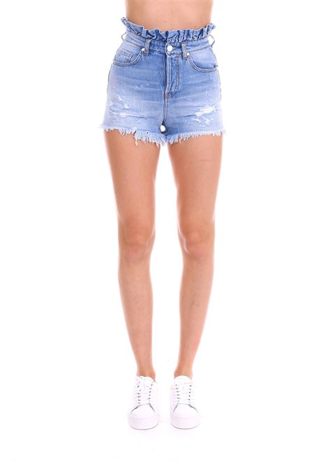 SHORTS IN JEANS LEY ROUCHES PINKO | Shorts | LEYROUCHES1X10C8Y5AAPJO