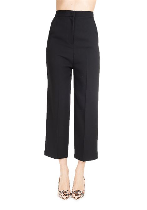 BLACK PALAZZO TROUSERS LILIANA PINKO | Pants | LILIANA1 1B13PK4575Z99