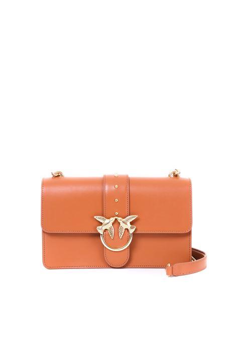 LOVE BAG SIMPLY CAMEL PINKO | Bag | LOVESIMPLY10 1P21AYY5EUL47