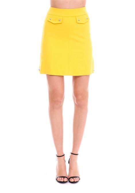 YELLOW PROFONDO MINI-SKIRT PINKO | Skirt | PROFONDO1G13U56151H47