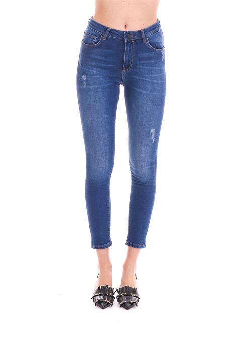 JEANS SKINNY-FIT IN DENIM POWER STRETCH PINKO | Jeans | TAYLOR25 1X10C3Y5ACPJC