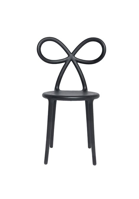 BLACK RIBBON CHAIR QEEBOO | Chairs | SEDIABLACK