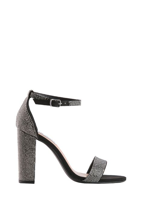 CARRSON-R BLACK CRYSTAL SANDAL STEVE MADDEN | Sandals | CARRSONRNERO