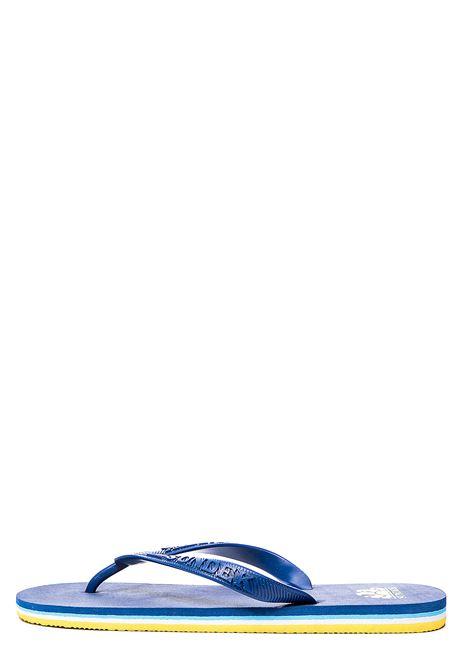 INFRADITO BLU CON STAMPA LOGO SUNDEK | Sandali bassi | AM443ASEL000558
