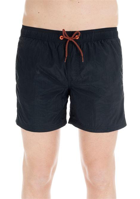 BLU NAVY RAINBOW SWIM SHORT  SUNDEK | Swimsuits | M504BDN2700007