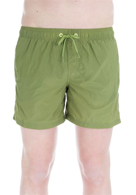 GREEN RAINBOW SWIM SHORT  SUNDEK | Swimsuits | M504BDN2700562