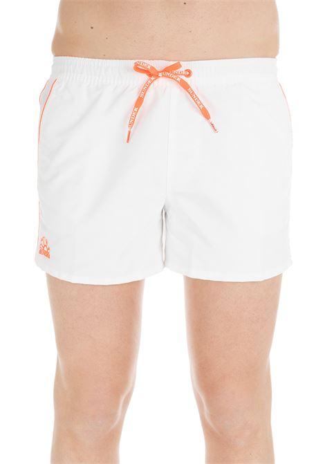 SHORTS WHITE NYLON SWIM SHORT SUNDEK | Swimsuits | M700BDTA100006