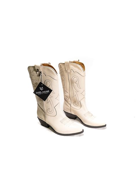 Texano in pelle milk Gisele moire | Texano | MEGANMK