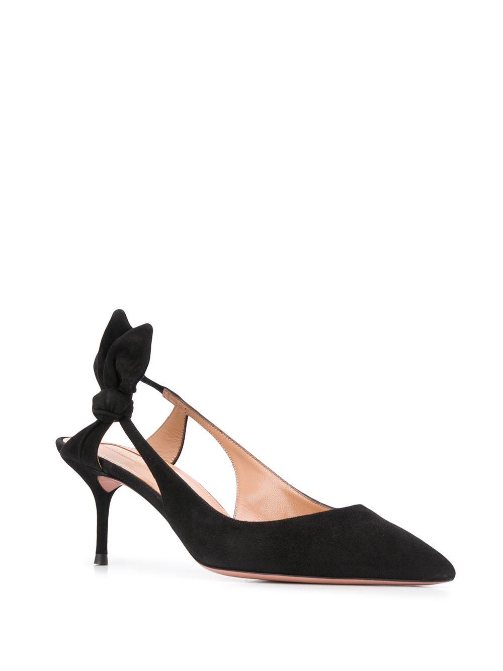 Black shoes AQUAZZURA      DRWMIDP0SUE000