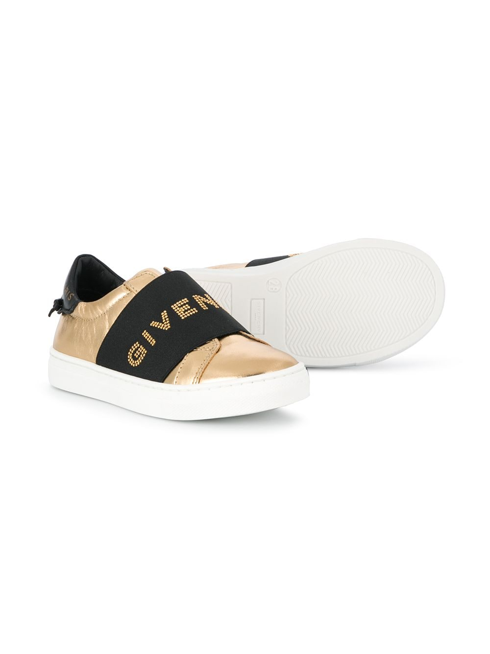 Gold sneakers GIVENCHY |  | H19038Z98