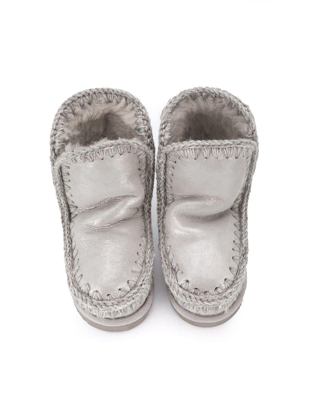 Silver eskimo boots MOU |  | FK101000CMGSIL