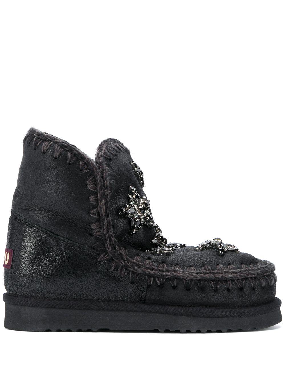 Eskimo ankle boots MOU |  | FW101003BCBKGCBKG