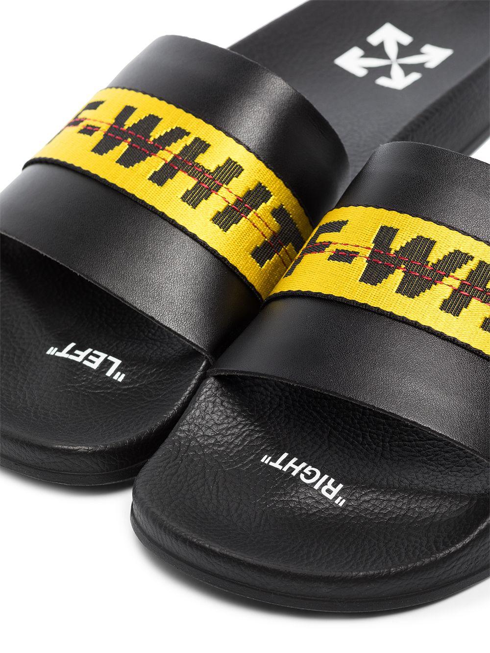 Black slides OFF WHITE |  | OMIA088E20FAB0041018