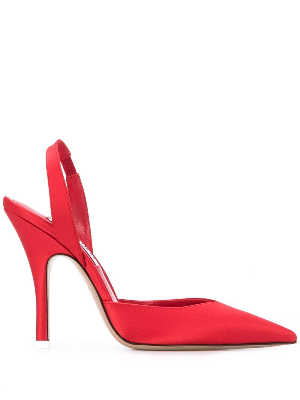 Scarpa rossa THE ATTICO | DECOLLETE | 202WS118V015010