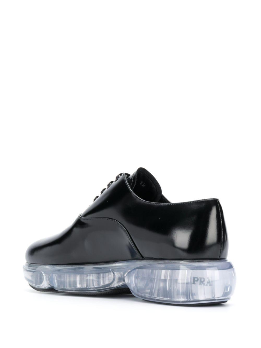 Black shoes PRADA      1E509LF040055F0002