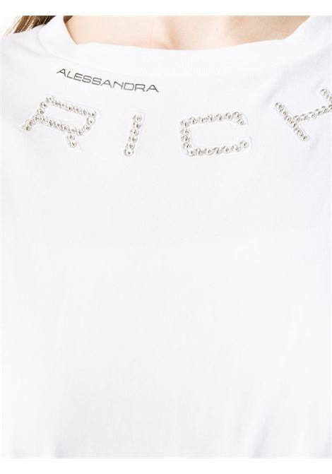 Maglia bianca ALESSANDRA RICH | T-SHIRT | FAB1895F2876822