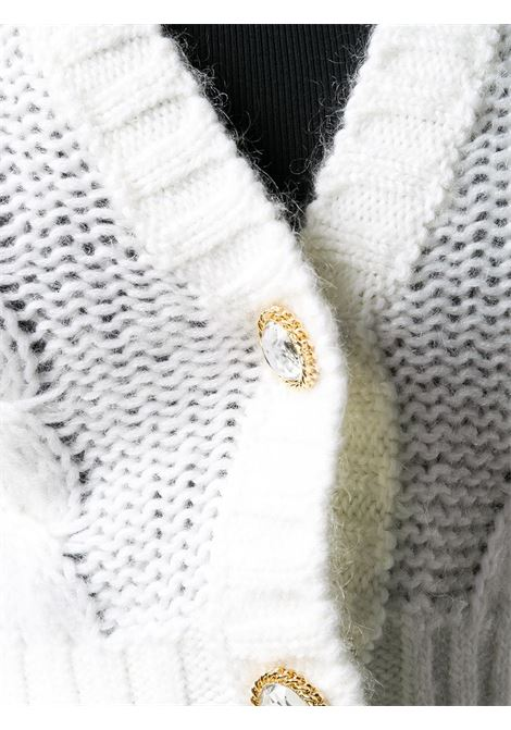 Cardigan bianco ALESSANDRA RICH | CARDIGAN | FAB2325K30279001