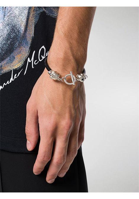 Bracciale nero ALEXANDER McQUEEN | BRACCIALI | 554600J127I1000