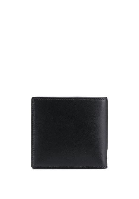 Portafoglio nero ALEXANDER McQUEEN | PORTAFOGLI | 6021371NT6B1070
