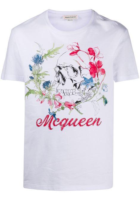 Maglia bianca ALEXANDER McQUEEN | T-SHIRT | 622100QPZ540900