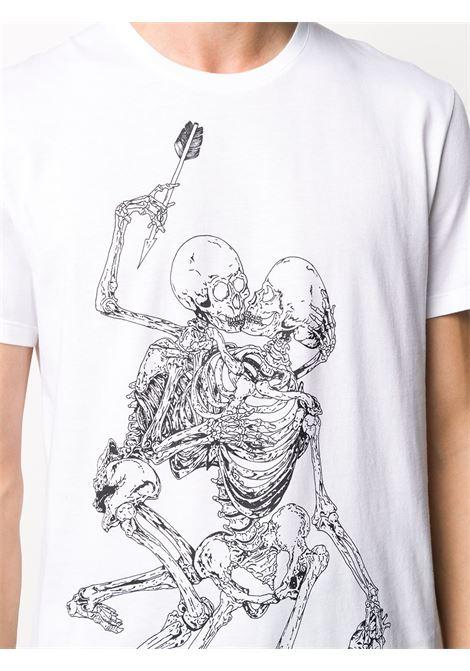 T-shirt bianca ALEXANDER McQUEEN | T-SHIRT | 624170QPZ600900