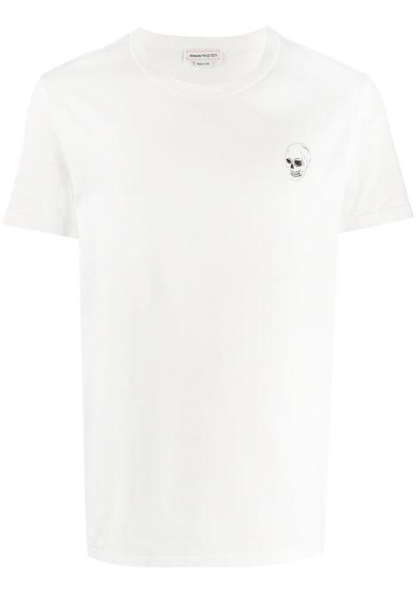 Maglia bianca ALEXANDER McQUEEN   T-SHIRT   624179QPZ640900