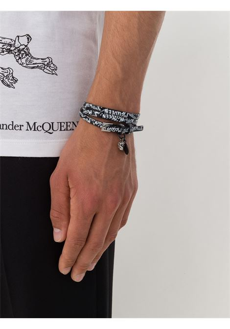 Bracciale nero ALEXANDER McQUEEN | BRACCIALI | 6264151XP0K1070