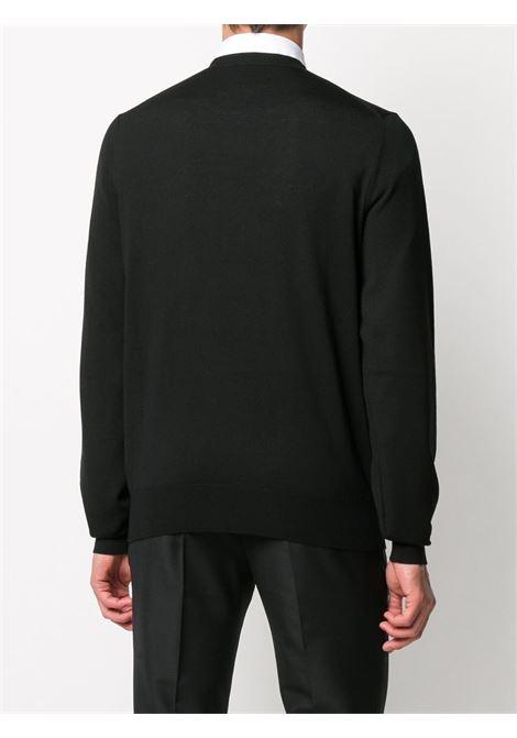 Pullover nero ALEXANDER McQUEEN | FELPE | 626440Q1WZF1033